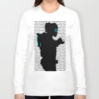 dead space Long Sleeve T-shirts featuring Isaac - Dead Space by Leamartes