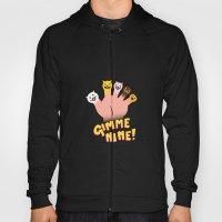 Cat Fingers - gimme 9! Hoody