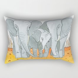 Noah's Ark - Elephant Rectangular Pillow
