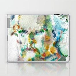 MARK TWAIN - watercolor portrait Laptop & iPad Skin