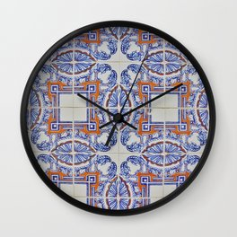 Azulejo Wall Clock