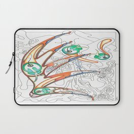 Embryonic Fly Trap Laptop Sleeve