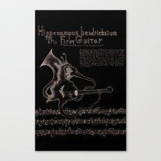 Hippocampus Hendricksium  Canvas Print