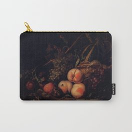 Rachel Ruysch - Still-Life with Fruit and Insects Carry-All Pouch