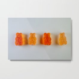 Gummi Metal Print