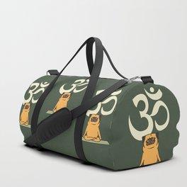 Om Pug Duffle Bag