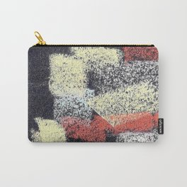 Multicolor abstract black Carry-All Pouch