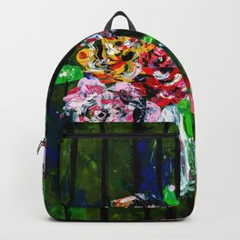Buckets of Flowers Backpack