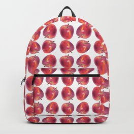 Red Apple pattern Backpack