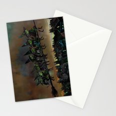 Night Flying.  Stationery Cards