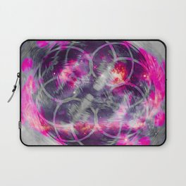 iDeal - Pink Fog Laptop Sleeve