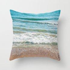 Sea of my dream Throw Pillow
