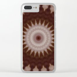 Some Other Mandala 157 Clear iPhone Case