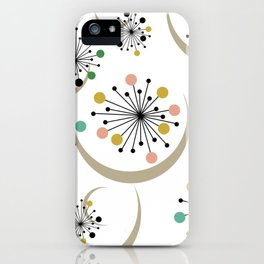 Midcentury Starbursts 1A iPhone Case