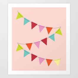 Hooray for girls! Art Print
