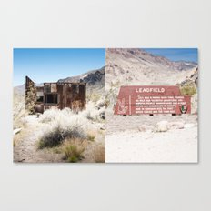 Leadfield, Death Valley.  Canvas Print