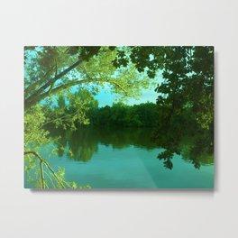 River Main Frankfurt Germany Metal Print