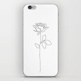 Fragile Rose iPhone Skin