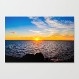 Puerto Peñasco, Mexico Sunset Canvas Print