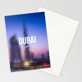 Dubai - Cityscape Stationery Cards