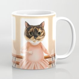 Ballerina Cat Coffee Mug