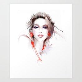 beautiful adornments Art Print
