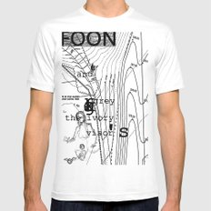 FOON AND GREY Mens Fitted Tee SMALL White