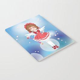 Mini Me Stars: Red Sakura Notebook