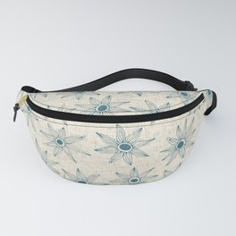 sema cream blue Fanny Pack
