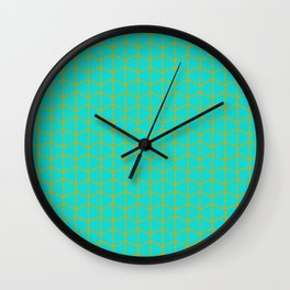 Turqoise Wall Clock