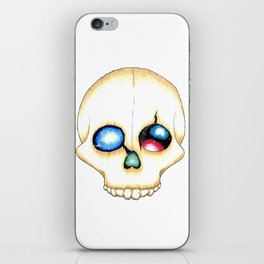 Galaxy Skull iPhone Skin