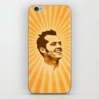 jack nicholson iPhone & iPod Skins featuring Nicholson by Durro