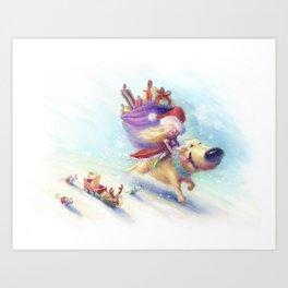 Christmas Companion Art Print