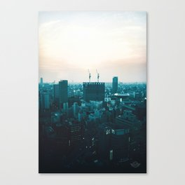 Osaka morning Canvas Print