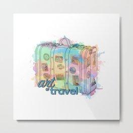 Art of travel Metal Print