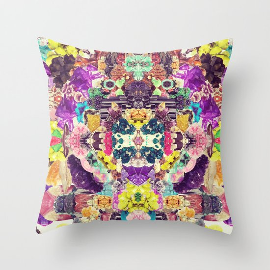 Crystalize Me Throw Pillow