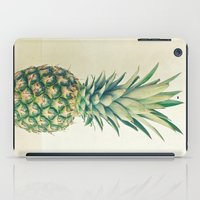 pineapple iPad Cases featuring Pineapple by Cassia Beck
