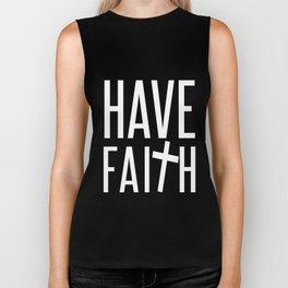 Have Faith Biker Tank
