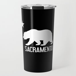 Sacramento and California Bear Travel Mug