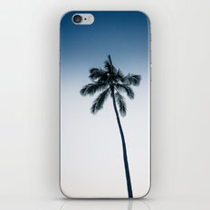 palm tree ver.navy iPhone Skin