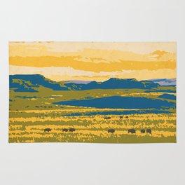 Grasslands National Park Poster Rug
