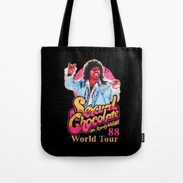 RANDY WATSON - SEXUAL CHOCOLATE WORLD TOUR 88 Tote Bag