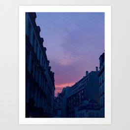 Paris Skyline 16eme Art Print