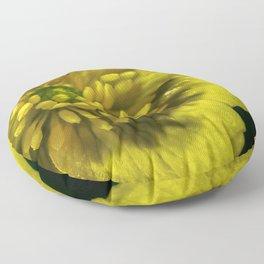 Buttercup Flower Close up Floor Pillow