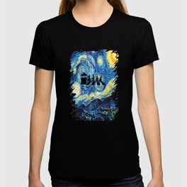 The Doctors Walking Of Starry Night T-shirt