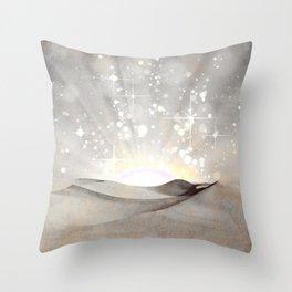 MAGIC DESERT Throw Pillow