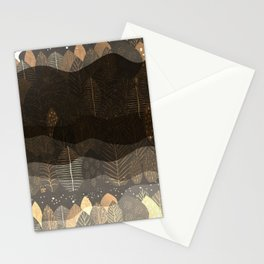 Layers Of Night Stationery Cards