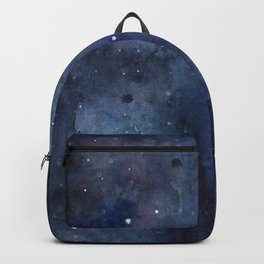 Night Sky Stars Galaxy | Watercolor Nebula Backpack