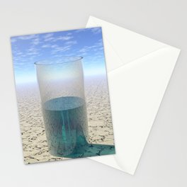 Glass of Water Stationery Cards