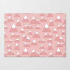 Mountain pattern Canvas Print